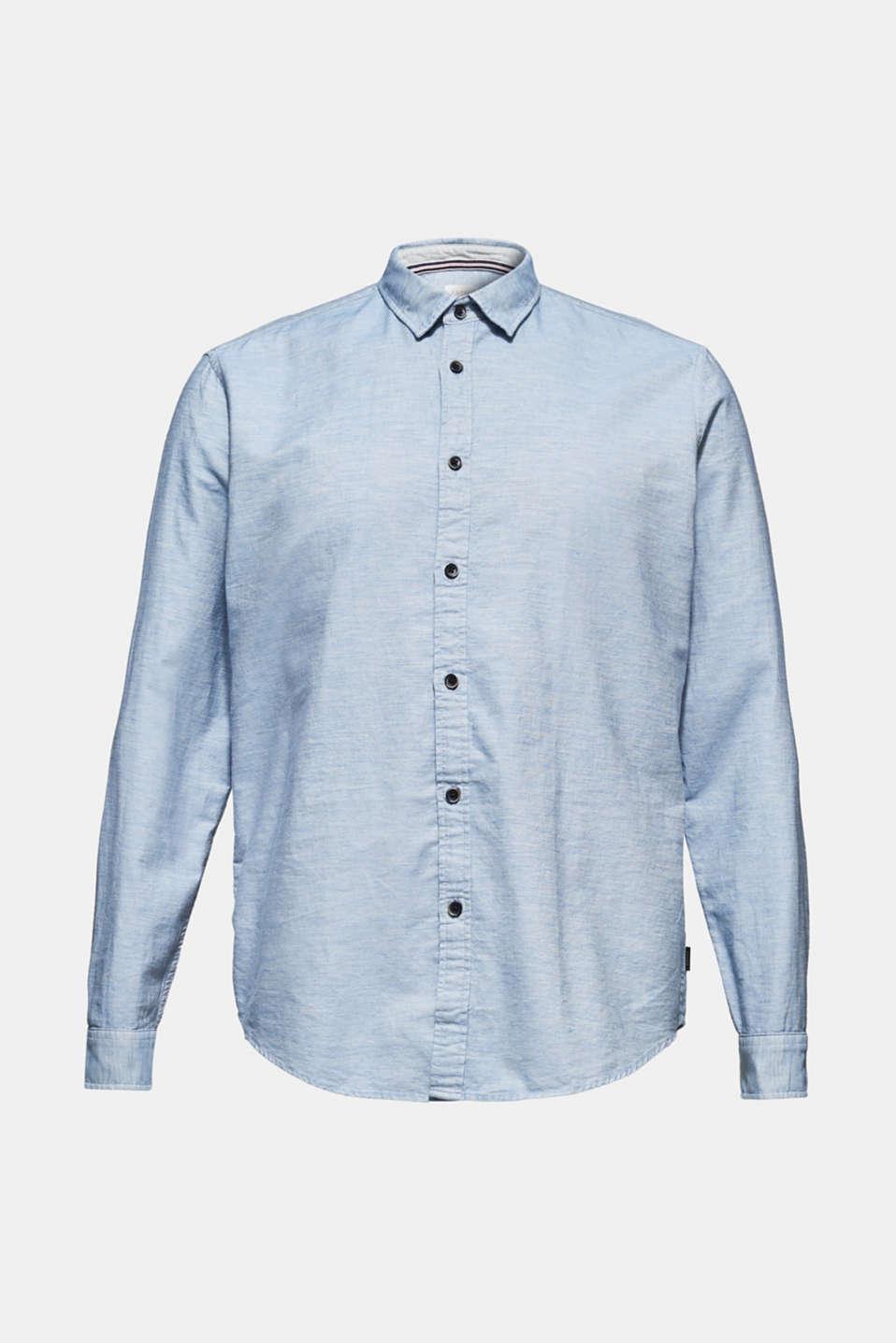 100% cotton shirt, LIGHT BLUE, detail image number 6