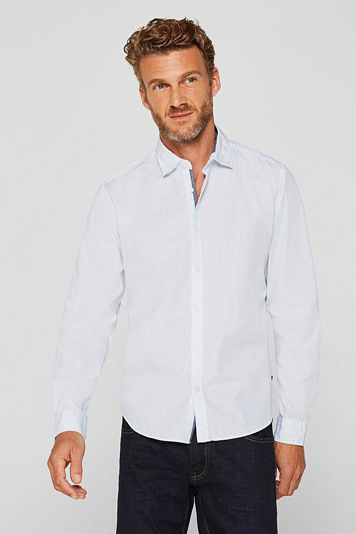 Hemd mit Micro-Print, 100% Baumwolle