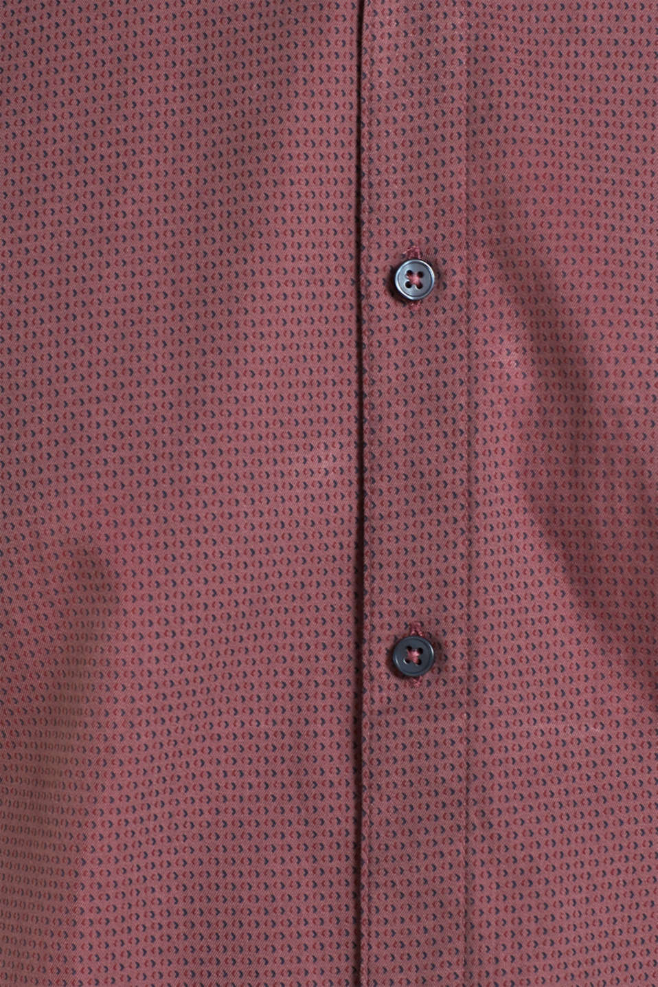 With wool: Top with a micro print, GARNET RED, detail image number 4