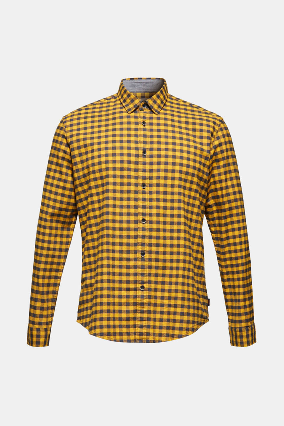 Shirts woven Regular fit, YELLOW, detail image number 6