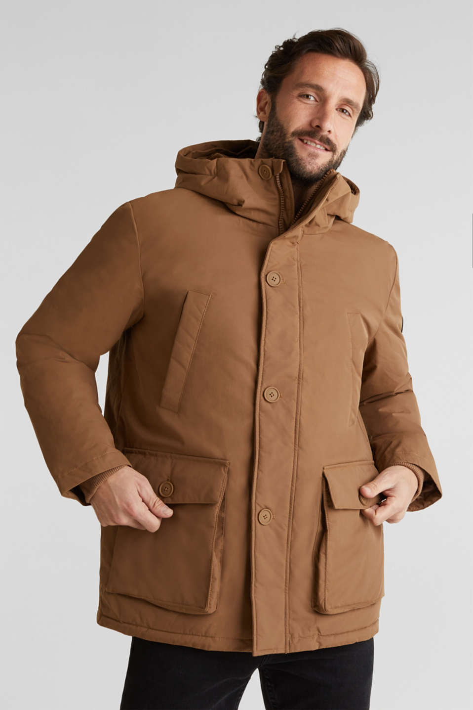 Parka with 3M™ Thinsulate™ padding, TOFFEE, detail image number 0