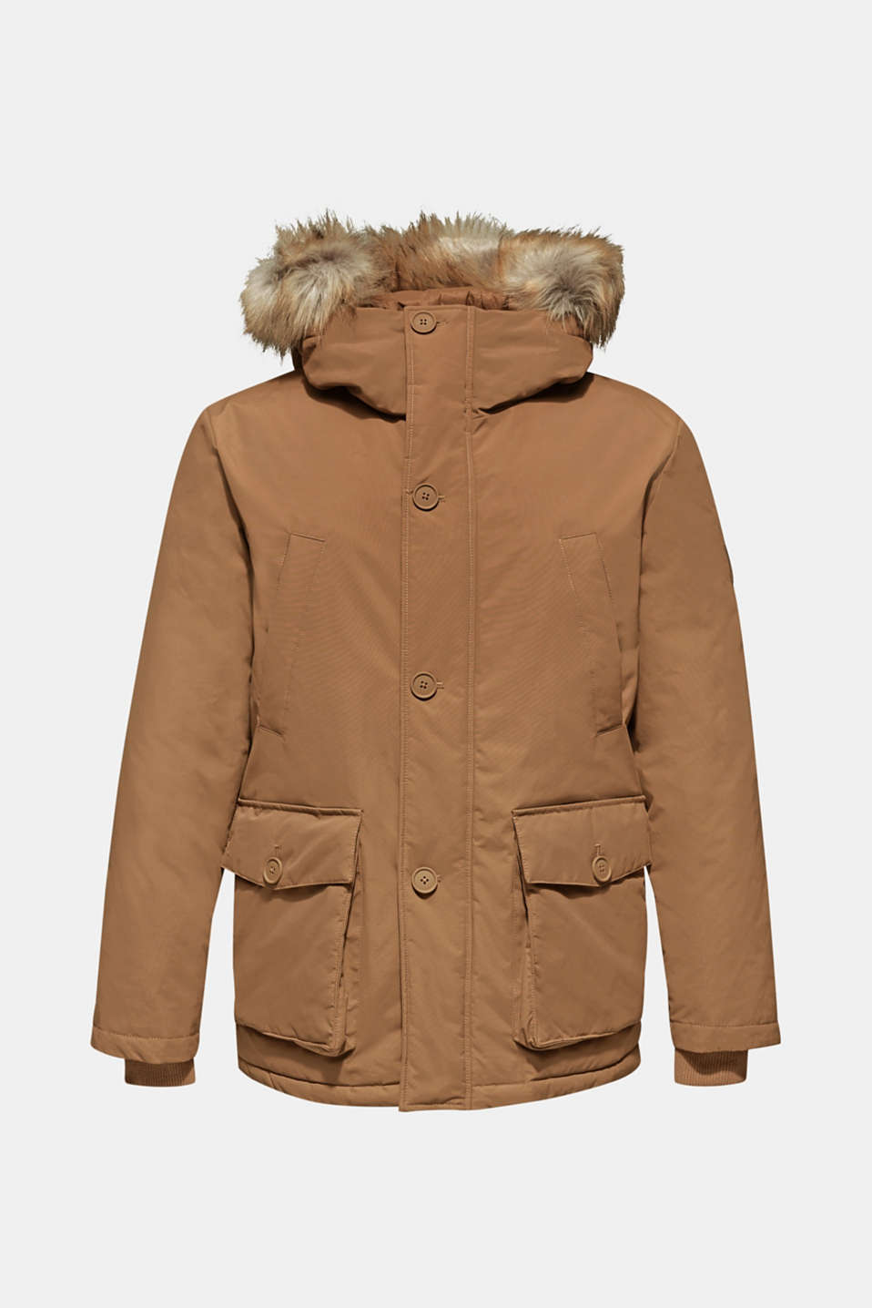Parka with 3M™ Thinsulate™ padding, TOFFEE, detail image number 7