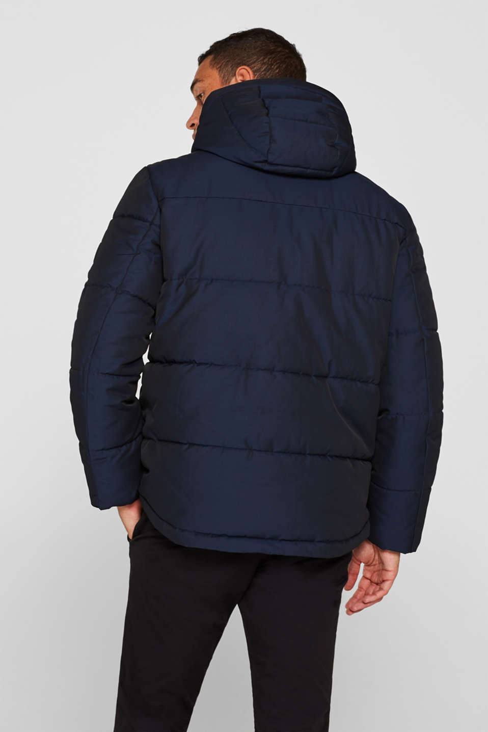 Quilted jacket with 3M® Thinsulate® padding, NAVY, detail image number 3