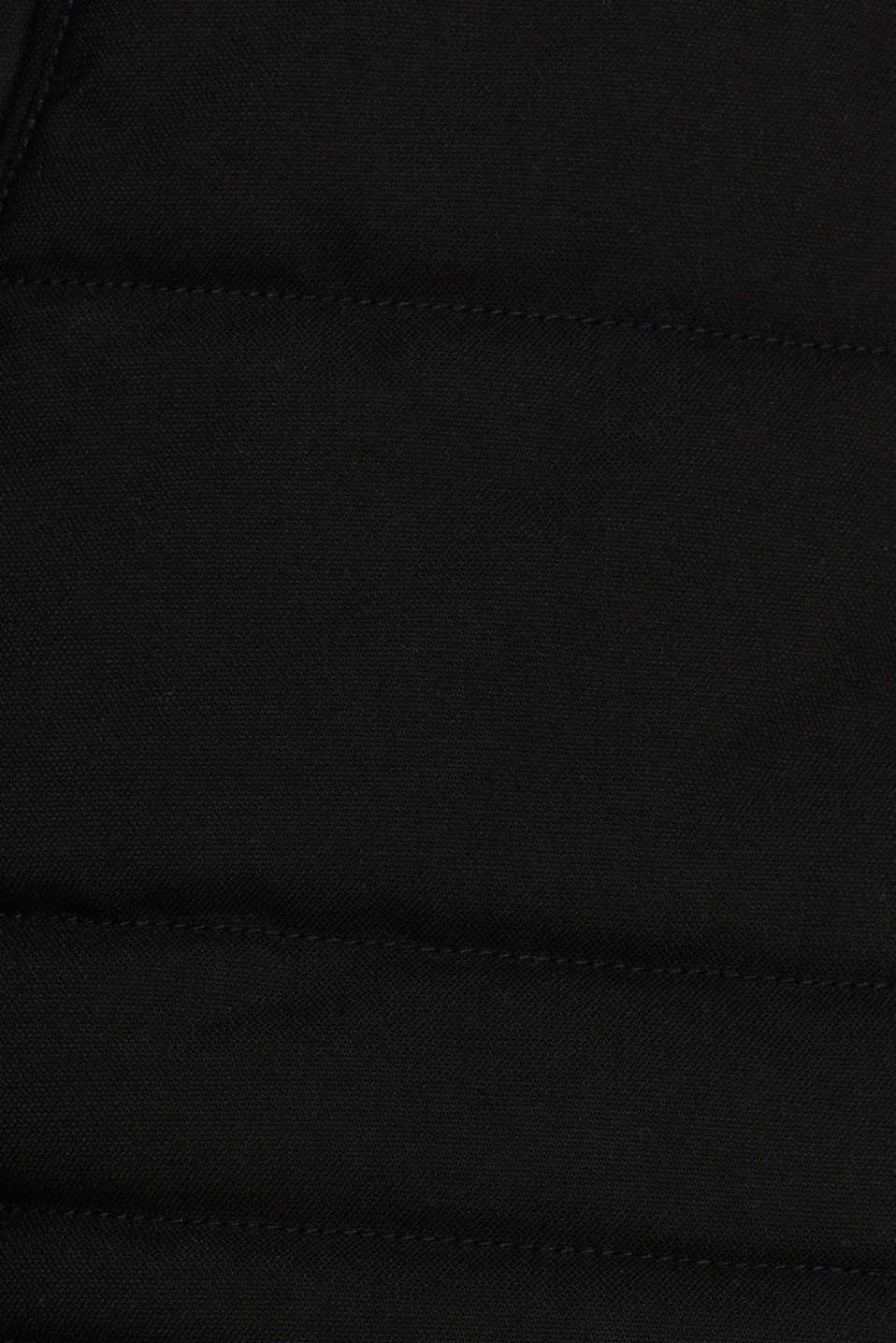 Padded quilted jacket with an adjustable hood, BLACK, detail image number 4