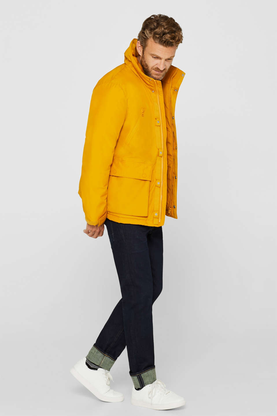 Jacket with 3M™ Thinsulate™ padding, YELLOW, detail image number 1