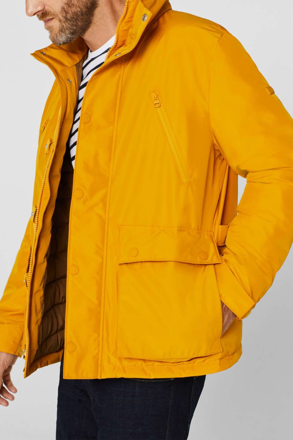 Jacket with 3M™ Thinsulate™ padding, YELLOW, detail image number 5