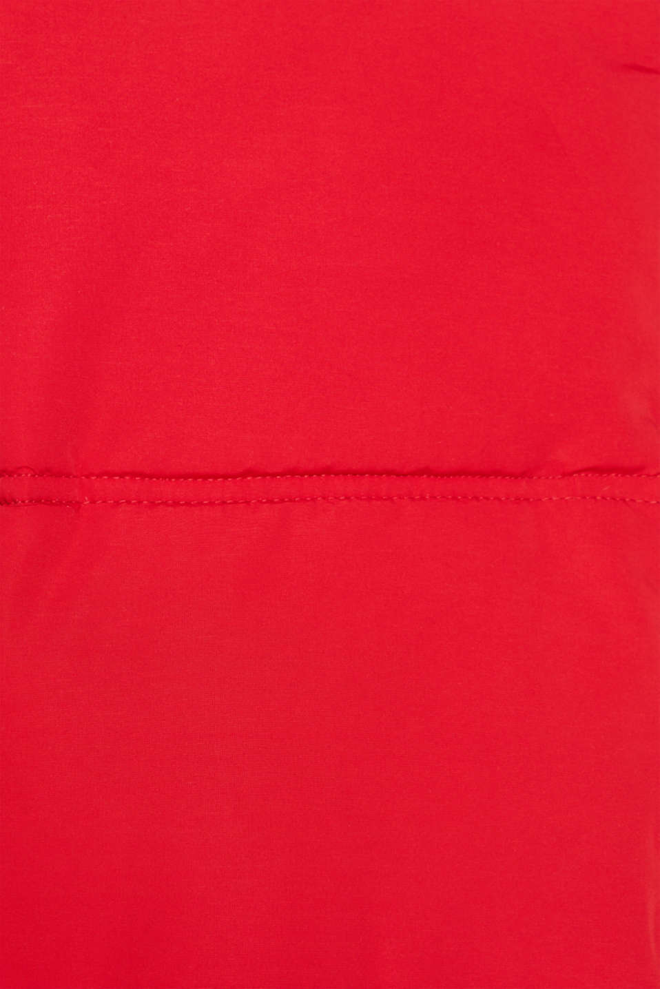 Winter jacket with a hood, RED, detail image number 4