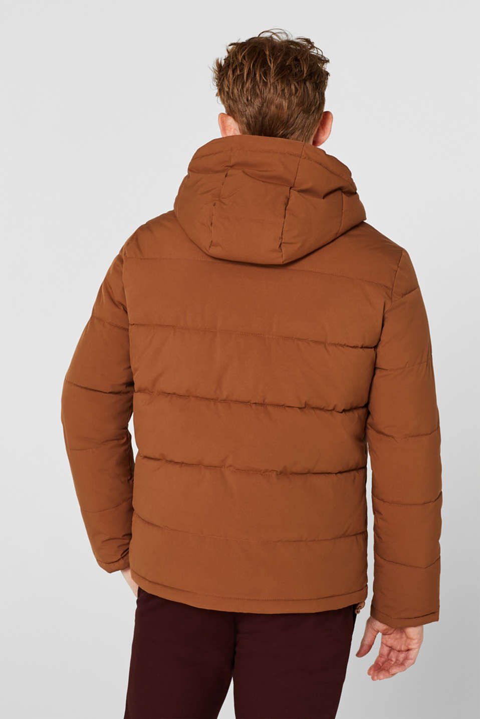 Quilted jacket with 3M™ Thinsulate™ padding, CAMEL, detail image number 3