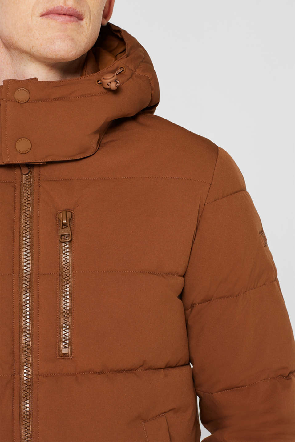 Quilted jacket with 3M™ Thinsulate™ padding, CAMEL, detail image number 2