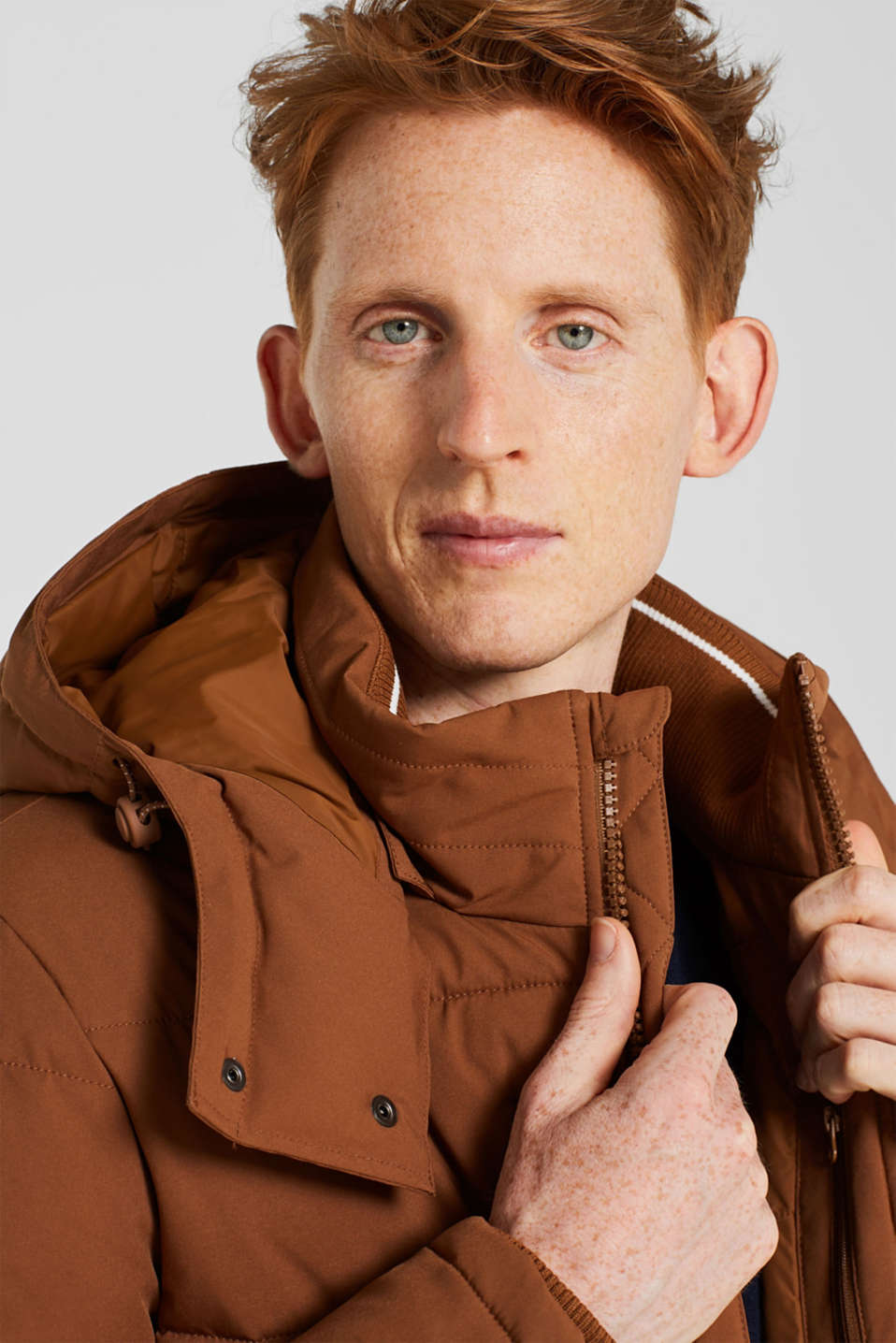 Quilted jacket with 3M™ Thinsulate™ padding, CAMEL, detail image number 5