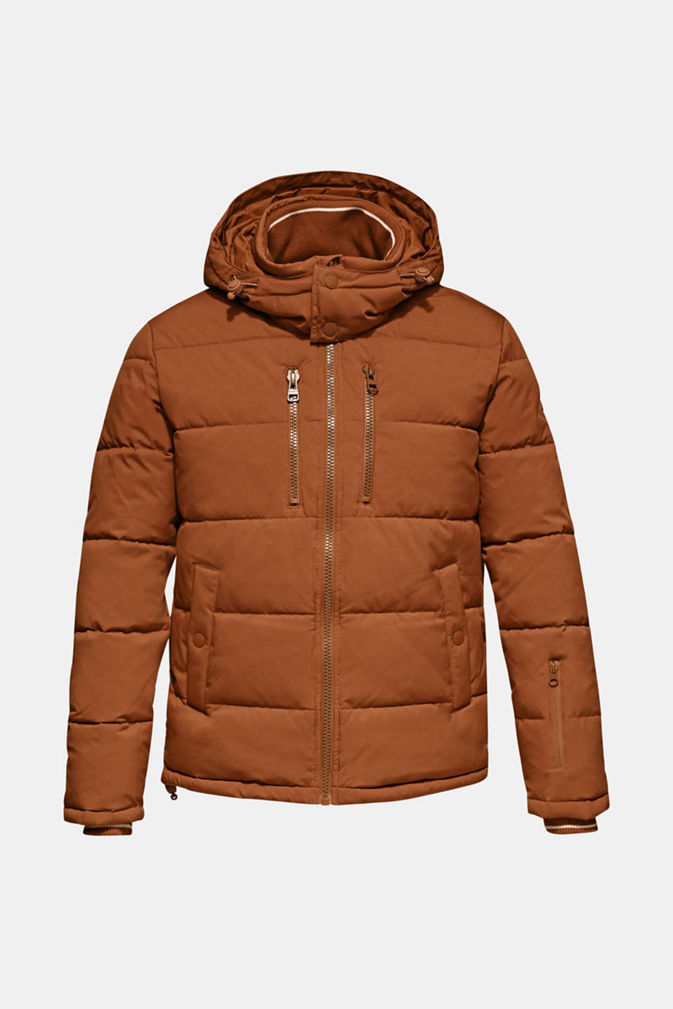 Quilted jacket with 3M™ Thinsulate™ padding, CAMEL, detail image number 7