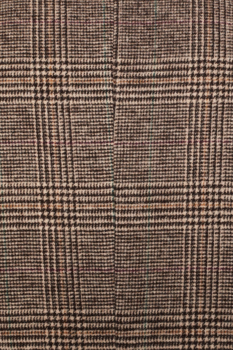 Wool blend: coat with a Prince of Wales check design, CAMEL, detail image number 5