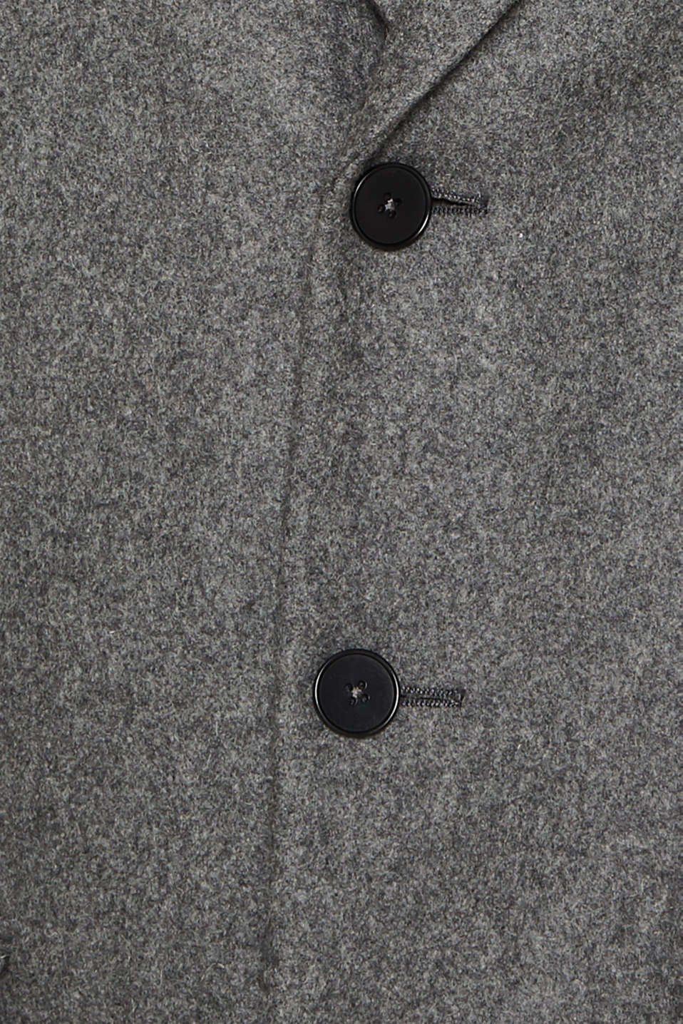 Wool blend: Coat made of Italian yarn, GREY, detail image number 5