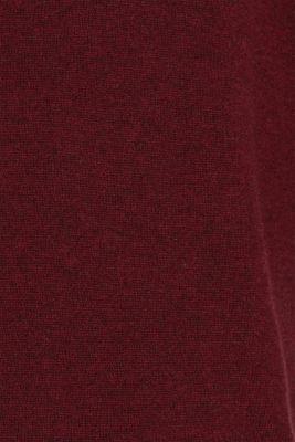 A cashmere/wool blend: knit jumper