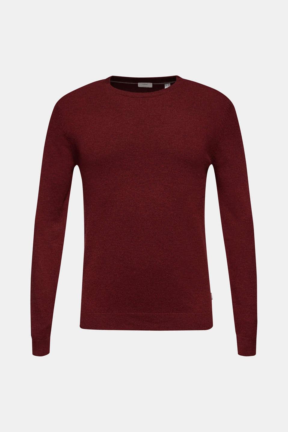 Sweaters, DARK RED, detail image number 7