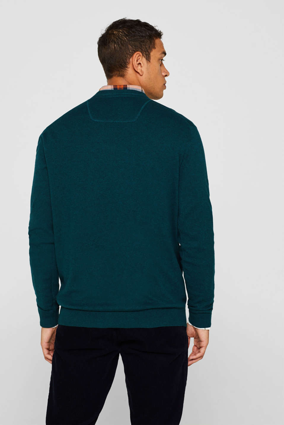 Sweaters, TEAL GREEN, detail image number 3