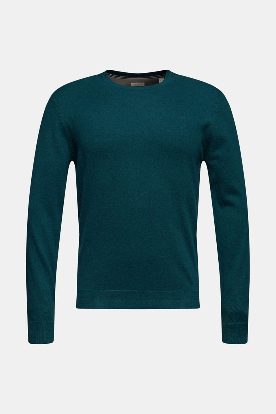 Sweaters, TEAL GREEN, detail image number 7