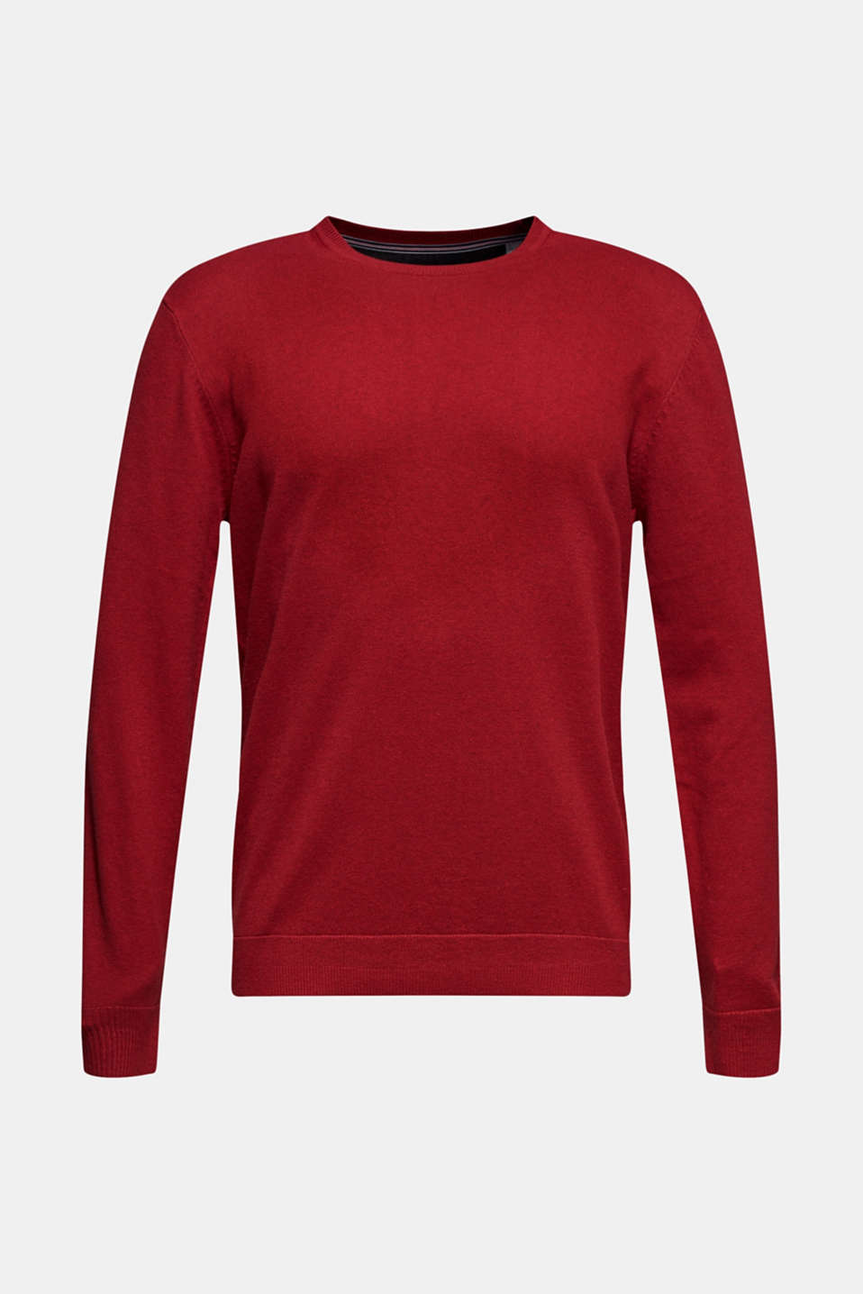 Sweaters, GARNET RED, detail image number 6
