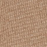 Cashmere blend: textured knit jumper, TAUPE, swatch