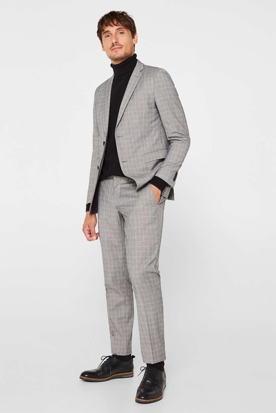 Polo neck jumper, 100% cotton, BLACK, detail image number 6