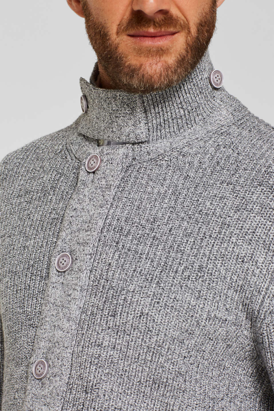 Sweaters, GREY, detail image number 6