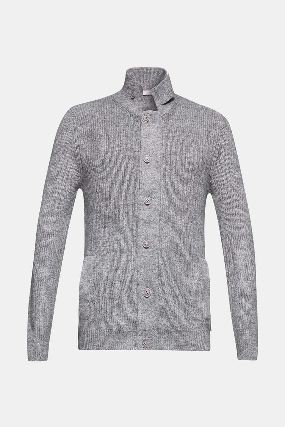 Sweaters, GREY, detail image number 7