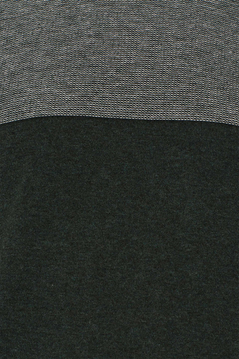 Sweaters, DARK GREEN, detail image number 4