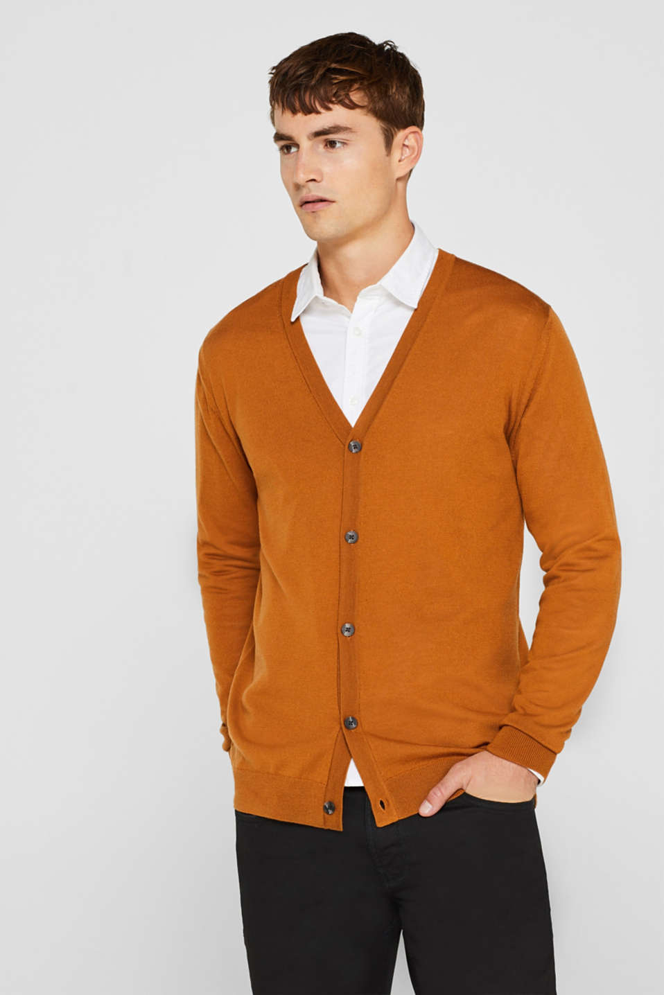 Sweaters, CARAMEL, detail image number 0