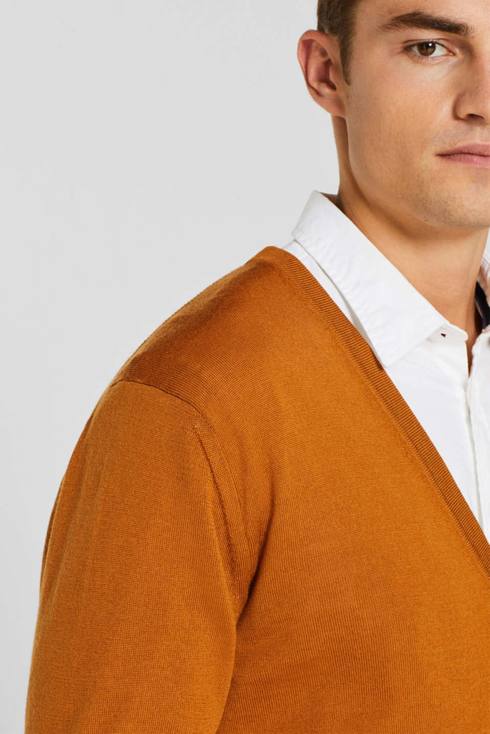 Sweaters, CARAMEL, detail image number 2