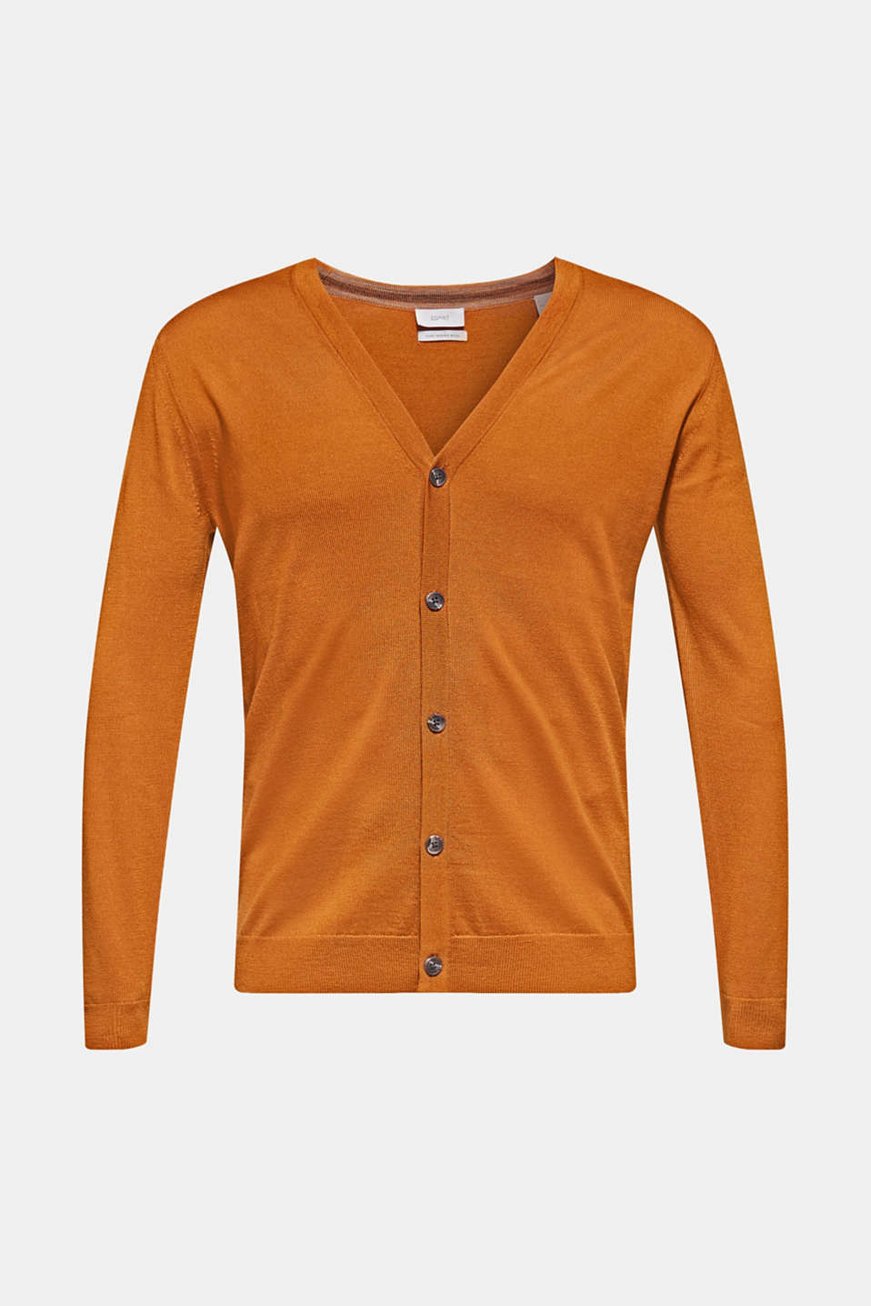 Sweaters, CARAMEL, detail image number 6