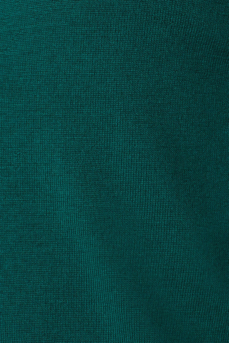 Sweaters, EMERALD GREEN, detail image number 4
