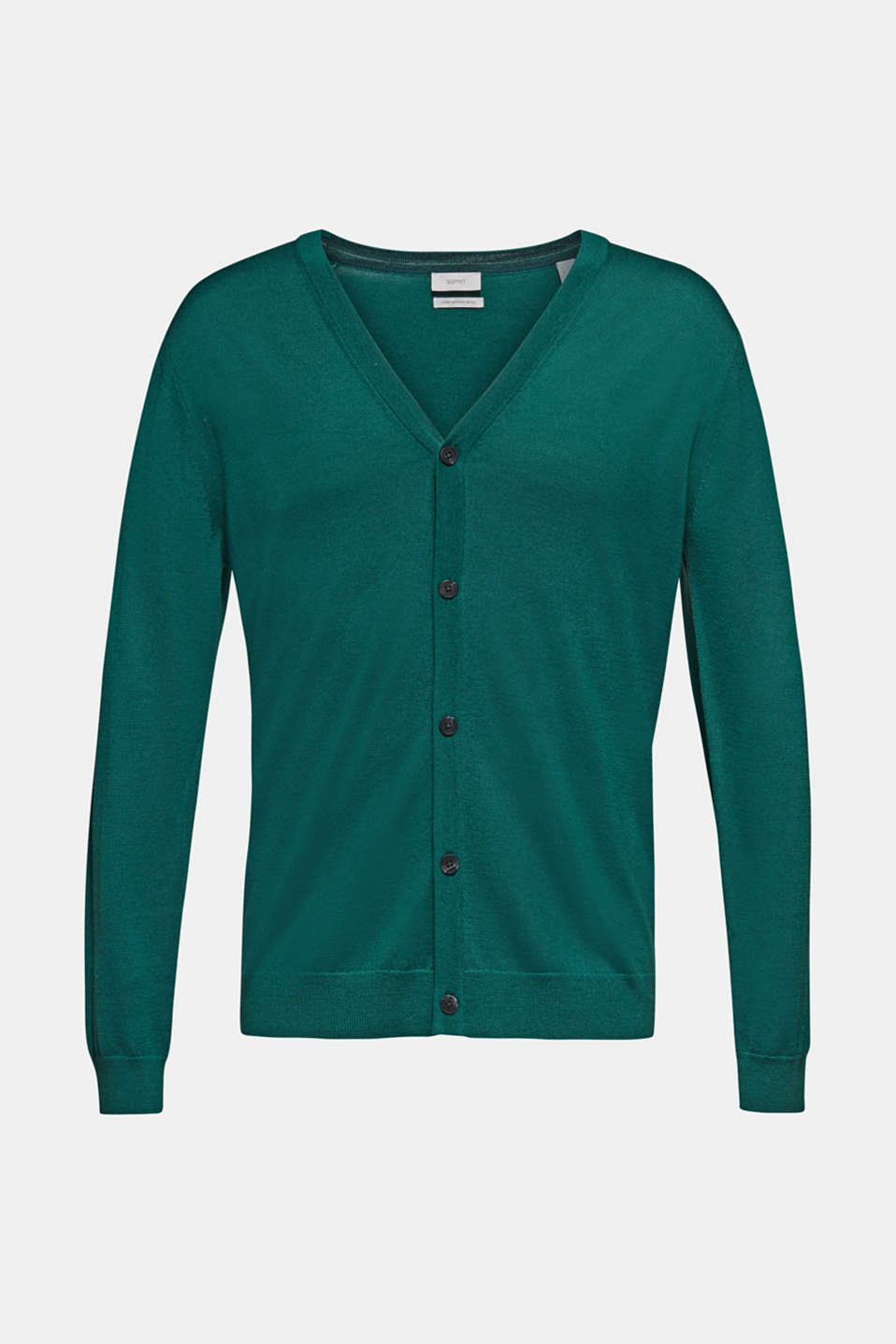 Sweaters, EMERALD GREEN, detail image number 7