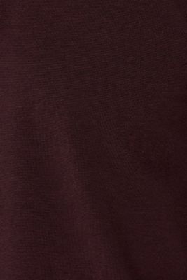 Jersey polo shirt in blended cotton