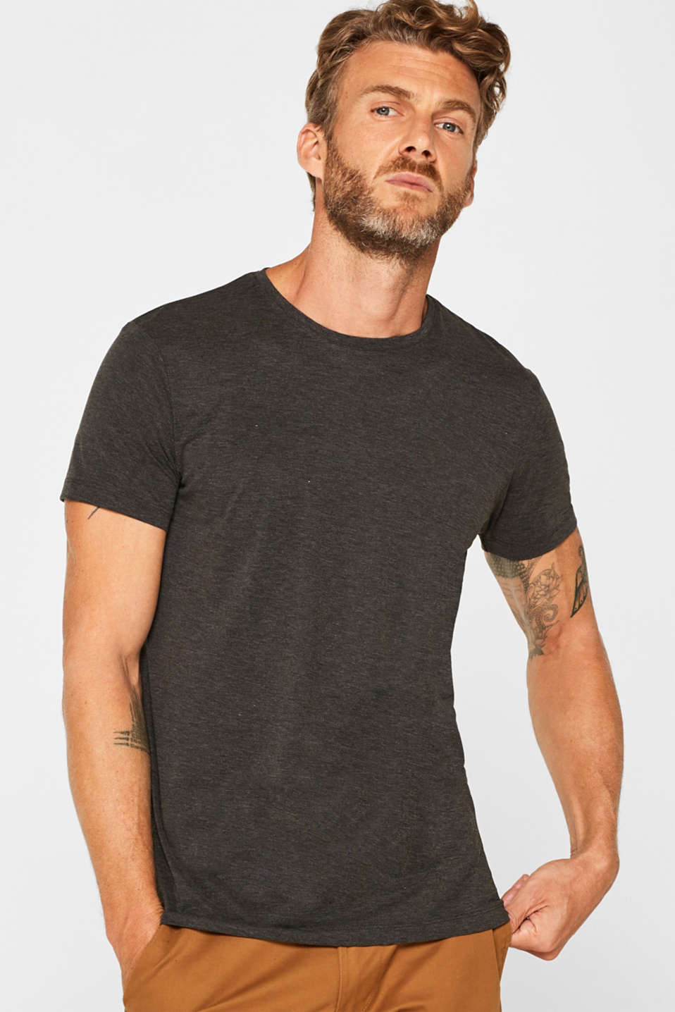 T-Shirts, DARK GREY, detail image number 0