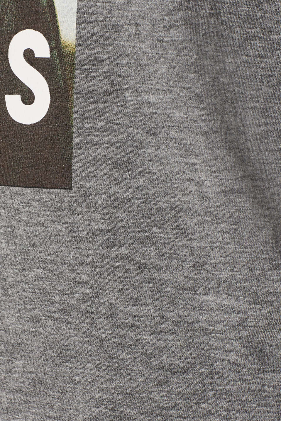 Long sleeve jersey top with an Xmas print, MEDIUM GREY, detail image number 4