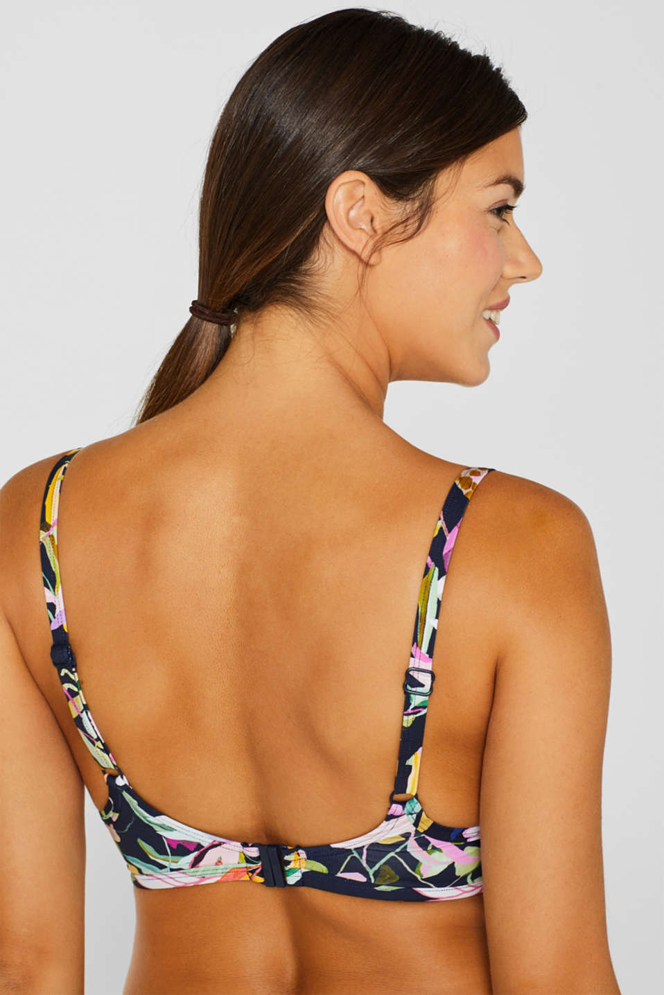 Beach Tops with wire, NAVY, detail image number 3