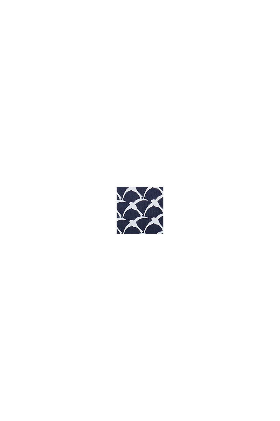 Bügel-Top mit Schwalben-Print, BLACK, swatch