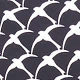 Printed, padded halterneck bikini top, BLACK, swatch