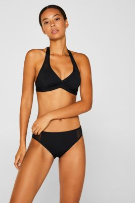 Briefs with mesh panels, BLACK, detail