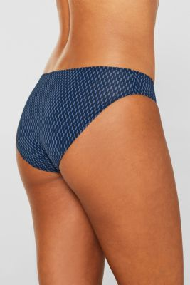 Double pack: hipster briefs with a geometric print