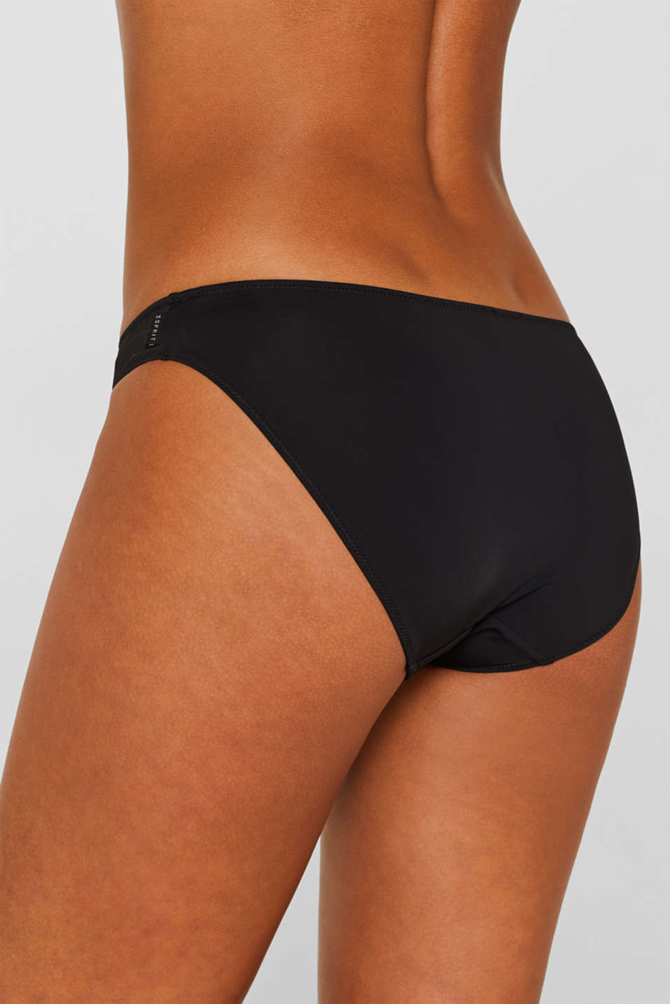 Microfibre briefs in a double pack, BLACK, detail image number 3