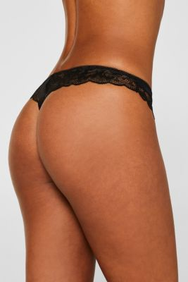 Hipster thong made of formal lace