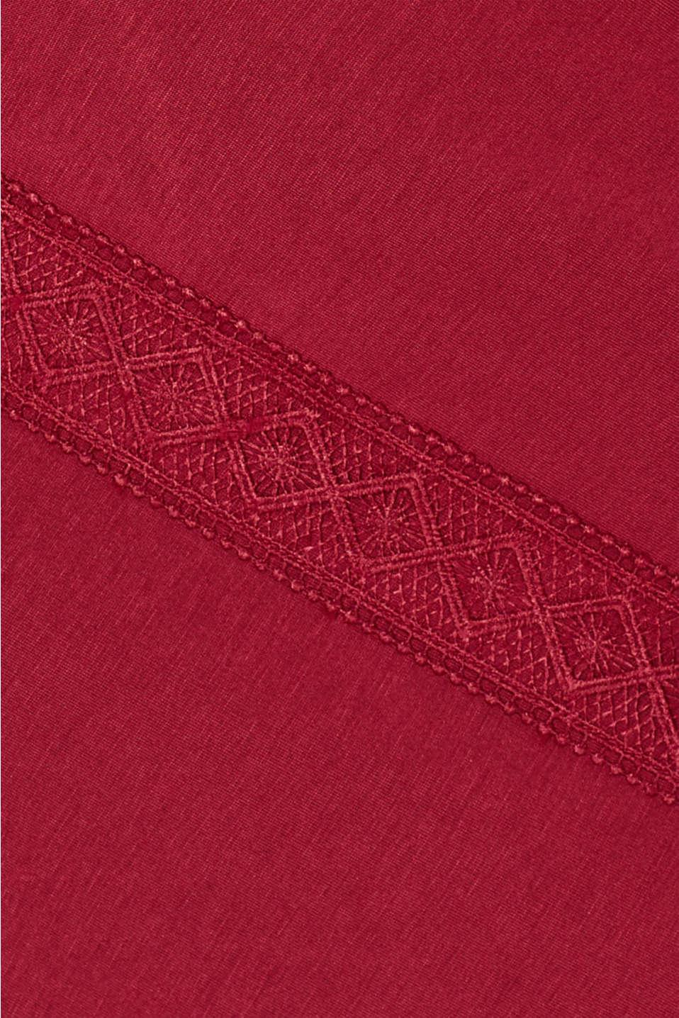Night-T-Shirts, DARK RED, detail image number 4