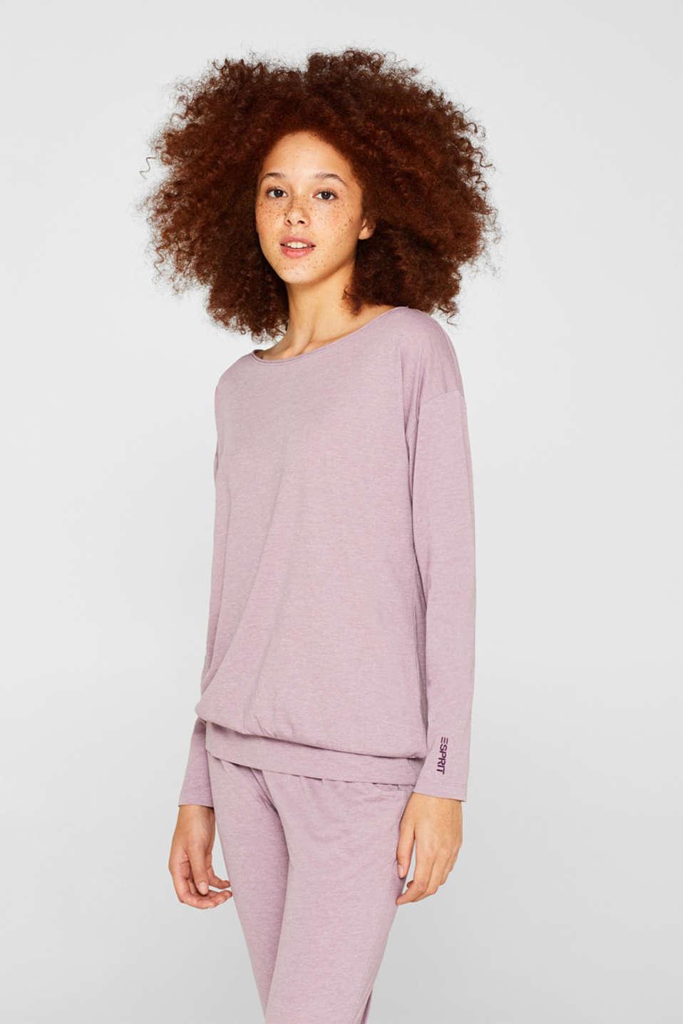 Melange jersey pyjamas