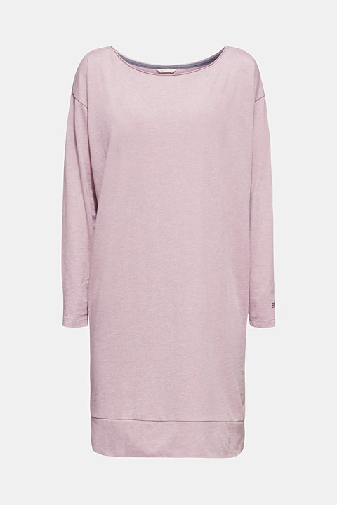 Melange jersey nightshirt