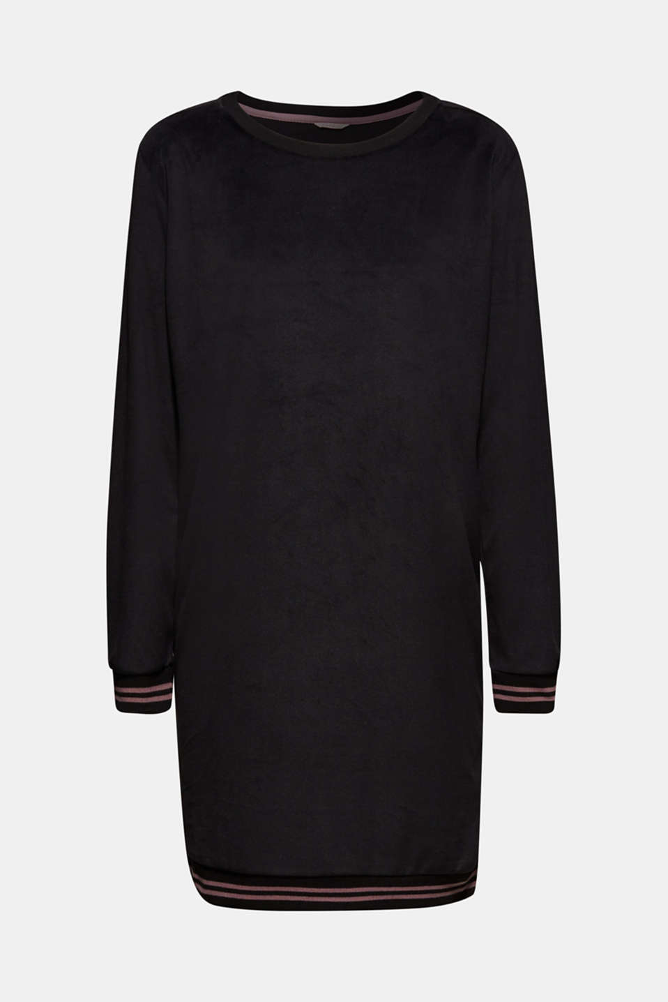 Nightshirts, BLACK, detail image number 5