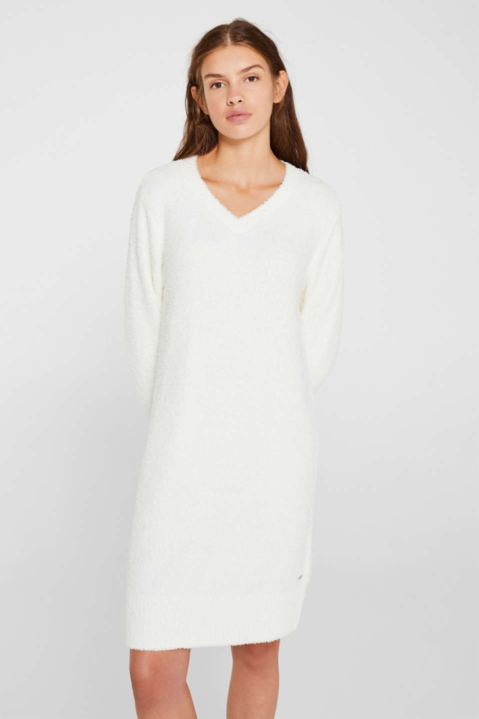 Esprit - Soft home dress with a plush feeling