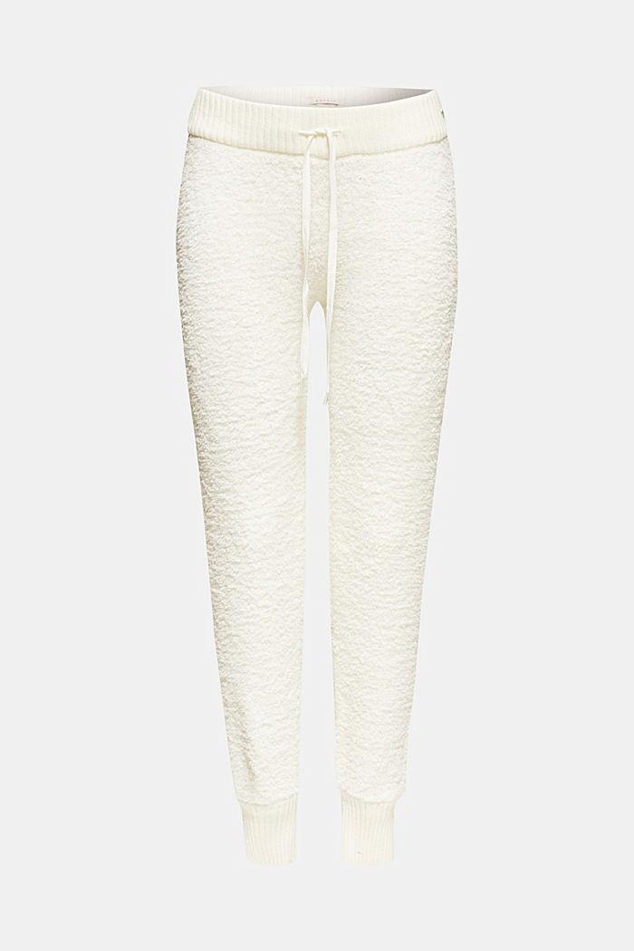 Heerlijk zachte loungebroek, OFF WHITE, detail image number 0
