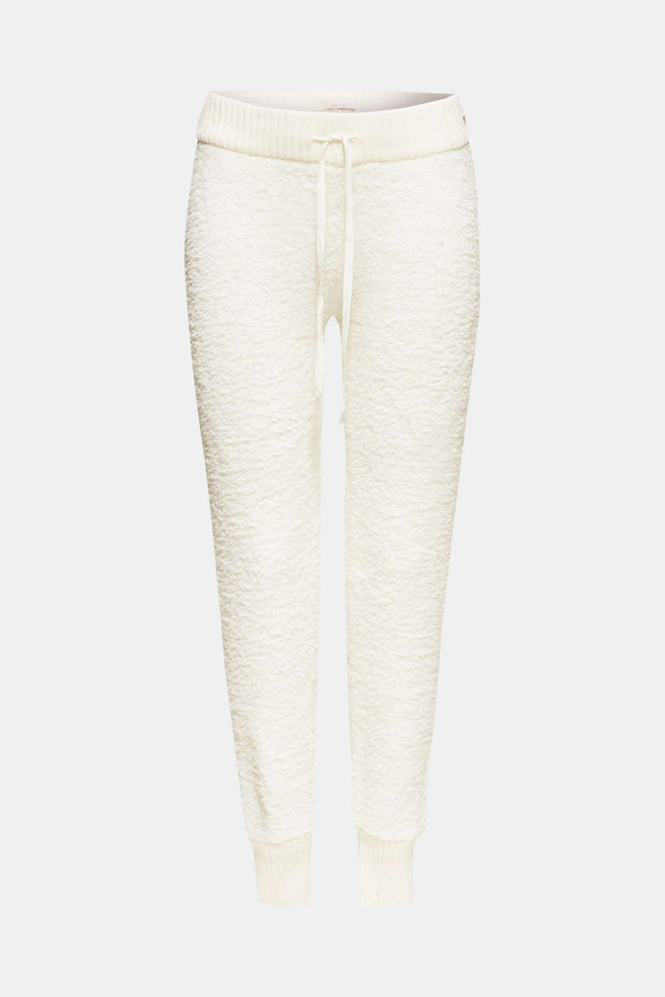 Cosy lounge trousers, OFF WHITE, detail image number 6