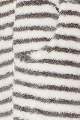 Plush trousers with stripes, OFF WHITE, detail